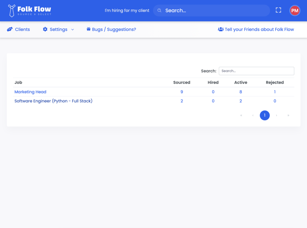 Folk Flow - All jobs in one place for staffing agencies